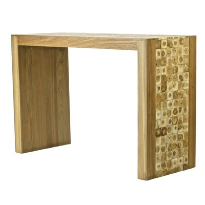 Foreign Affairs Home Decor Java Modern Teak Console Table