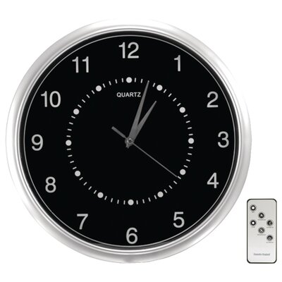 Security Man Wall-Clock Color Camera