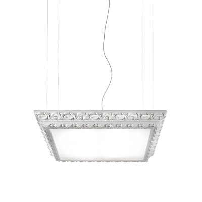 Masiero Arte 4 Light Square Hanging Pendant