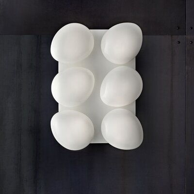 Masiero Sasso 6 Light Wall Sconce/Flush Mount
