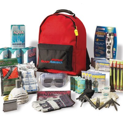 Ready America Grab N' Go Deluxe Emergency Backpack Kit