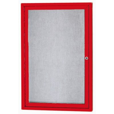 AARCO Outdoor Illuminated Enclosed Bulleting Board