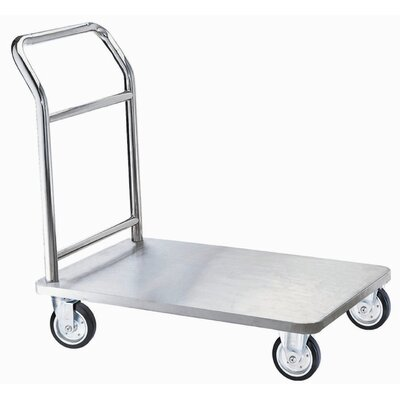 AARCO Bellman's Hand Truck with Solid Wheels