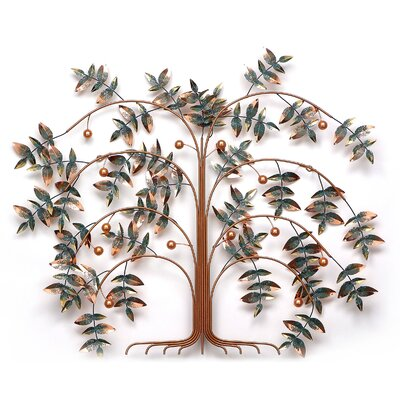 Fox Hill Trading Iron Werks Tree of Life Wall Sculpture