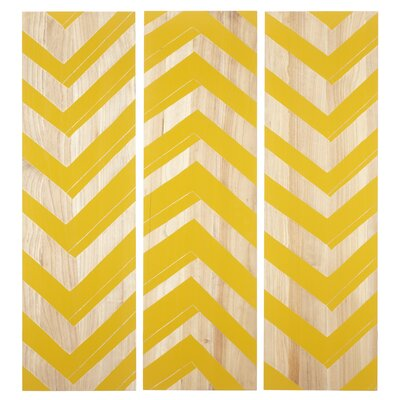 Selamat Zig Zag Panels (Set of 3)