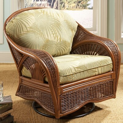 Wildon Home ® Palm Cove Swivel Glider Chair