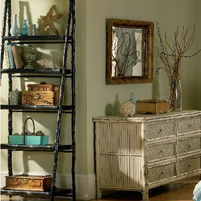 Kenian Coastal Chic Folding Ladder Shelf