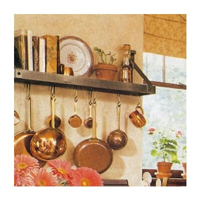 Bookshelf Pot Rack