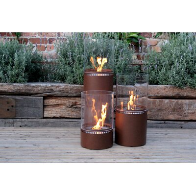 EcoSmart Fire Lighthouse Lantern Fire Column
