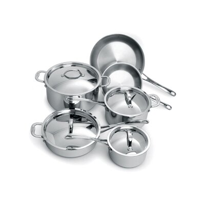 Cuisinox Elite 3-Ply Stainless Steel 10-Piece Cookware Set