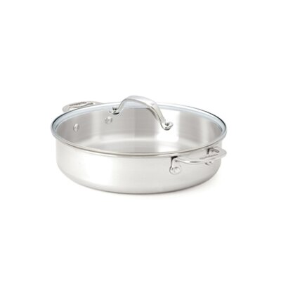 Cuisinox Elite 3-qt. Saucier with Lid