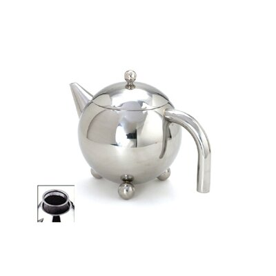 Cuisinox 30 Oz Footed Teapot with Infuser