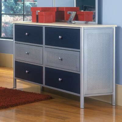 Hillsdale Furniture Universal Youth 6-Drawer Dresser