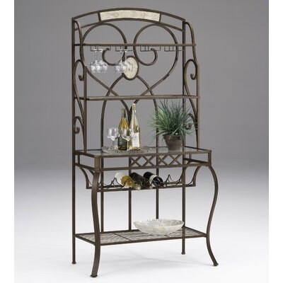 Hillsdale Furniture Brookside Stone Baker's Rack