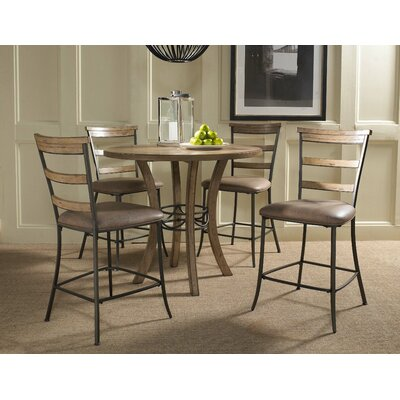 Hillsdale Furniture Charleston 5 Piece Counter Height Dining Set