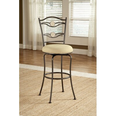 Hillsdale Furniture Harbour Point Double Circle Swivel Stool