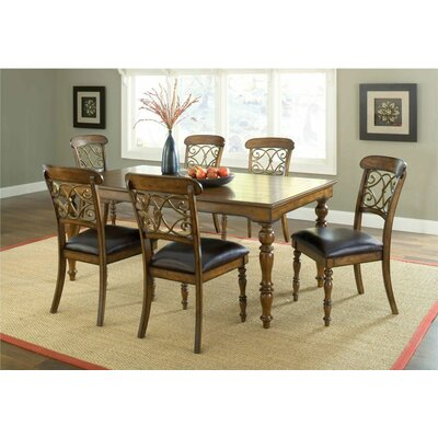 Hillsdale Furniture Bergamo 7 Piece Dining Set