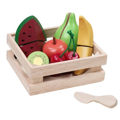 Wonderworld Fruity Basket Play Food Set