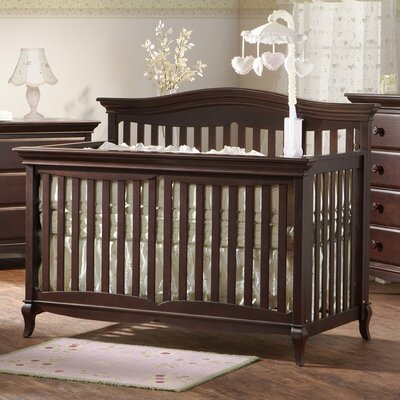 PALI Mantova 4-in-1 Forever Convertible Crib in Chocolate