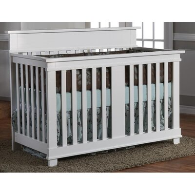 PALI Torino Crib Set in White