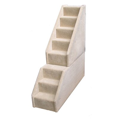 Animal Stuff Bear's Stairs™ Eight-Step Mini Carpeted Pet Stairs