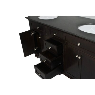 "Belmont Decor Colonial 60"" Double Vanity Set"