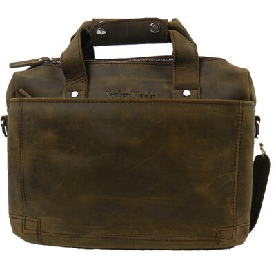Vagabond Traveler Leather Daily Messenger Bag