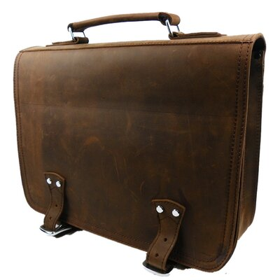 Leather Laptop Briefcase