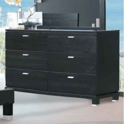 Brazil Furniture Group Daisy 6 Drawer Dresser