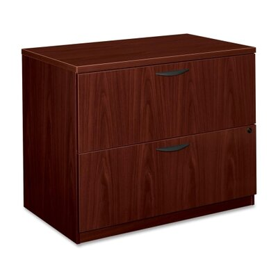 Basyx by HON BL Laminate Two-Drawer Lateral File