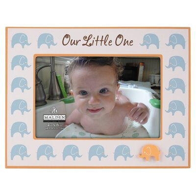 Malden Our Little One Ceramic Picture Frame