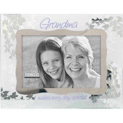 Malden Grandma Ornate Glass Picture Frame