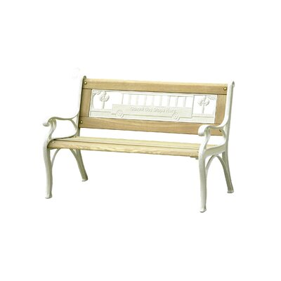 Innova Hearth and Home School Bus Cast Iron Kid's Park Bench