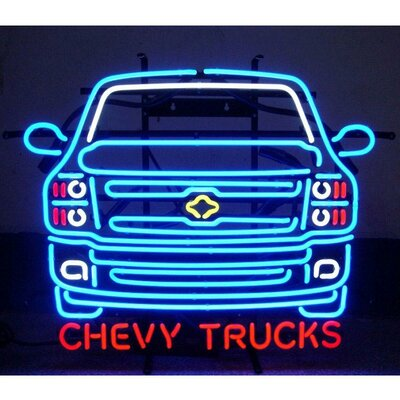 Neonetics Chevy Trucks Neon Sign