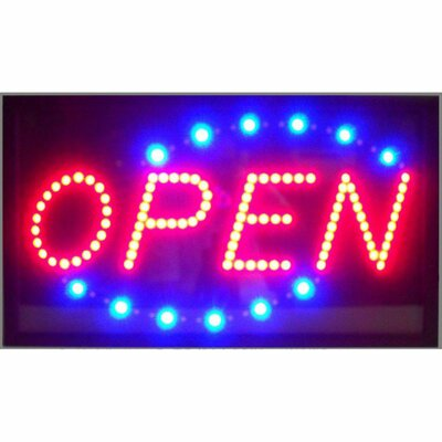 Neonetics Open LED Sign
