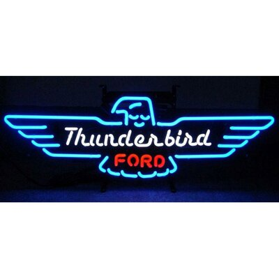 Neonetics Ford Thunderbird Neon Sign