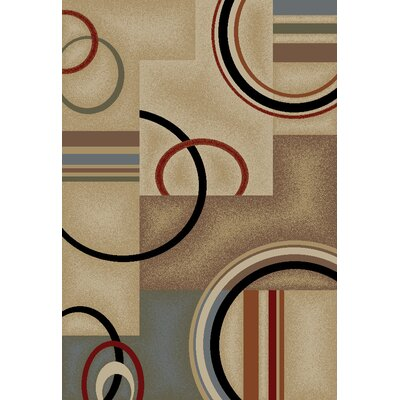 Barclay Ivory Arcs and Shapes Rug