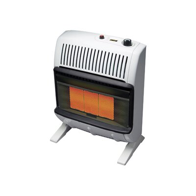Mr. Heater Vent Free 20,000 BTU Radiant Utility Natural Gas Space Heater