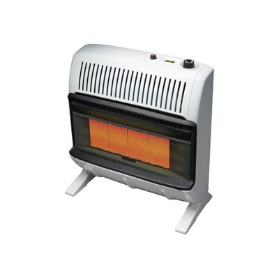 Mr. Heater Vent Free 30,000 BTU Radiant Utility Natural Gas Space Heater