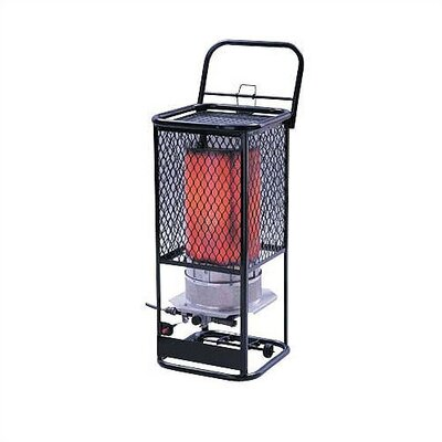 Mr. Heater 125,000 BTU Radiant Tank Top Portable Propane Space Heater
