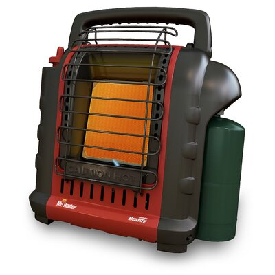 Mr. Heater 4,000 - 9,000 BTU Tank Top Portable Propane Space Heater