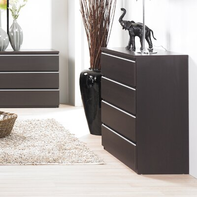 Tvilum Tucson Bedroom 4 Drawer Chest