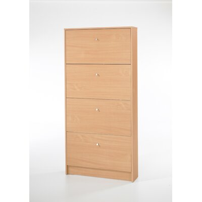 Springfield 4 Compartment Shoe Storage Cabinet