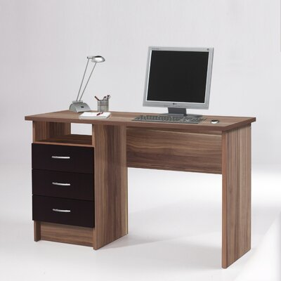 Tvilum Whitman Computer Desk with 3-Drawers