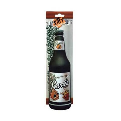 Tuffy's Pet Products Beer Bottle Barks Dog Toy