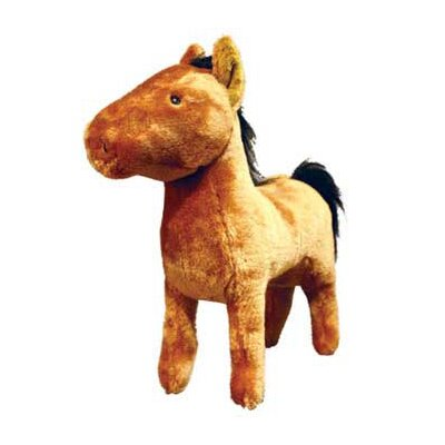 Tuffy's Pet Products Haydin Farm Horse Dog Toy