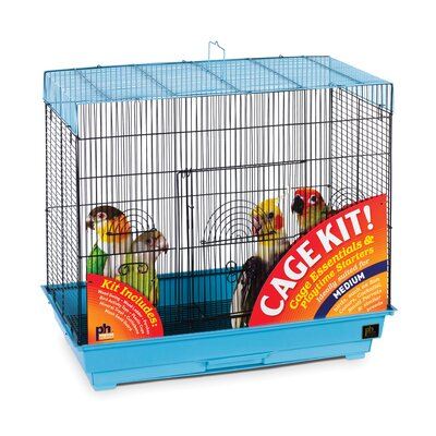 Prevue Hendryx Flight Keet/Tiel Bird Cage Starter Kit