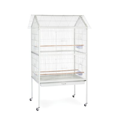 Aviary Cage in White