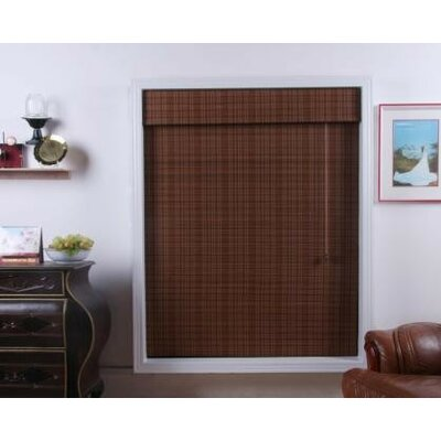 Top Blinds Arlo Blinds Bamboo Roman Shade in Triben