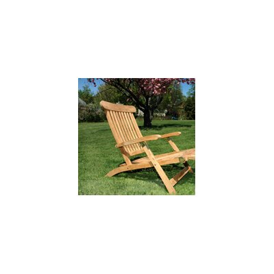Regal Teak Steamer Arm Chair